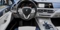 BMW X7 tableau de bord intérieur