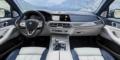 BMW X7 intérieur tableau de bord