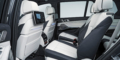BMW X7 sièges arrière infotainment