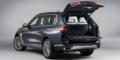 BMW X7 coffre