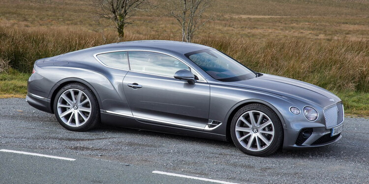 Essai Bentley Continental GT mk3
