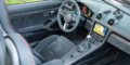 Essai Porsche 718 Boxster GTS 982  intérieur alcantara