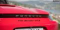 Essai Porsche 718 Boxster GTS 982 aileron logo