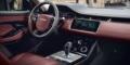 Range Rover Evoque mk2 2020 intérieur tableau de bord cuir bordeaux