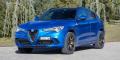 Essai Alfa Romeo Stelvio Quadrifoglio Bleu Misano