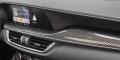 Alfa Romeo Stelvio Quadrifoglio tableau de bord carbone