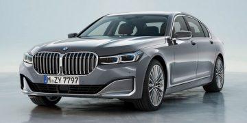 BMW Série 7 Facelift