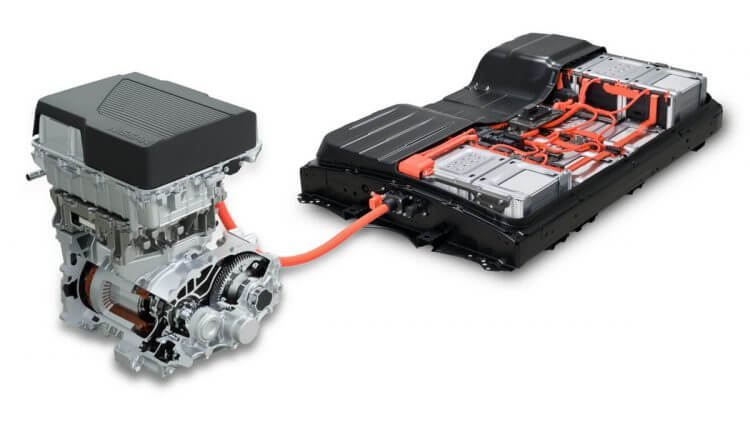 Nissan Leaf 3.ZERO pack batteries 62 kWh