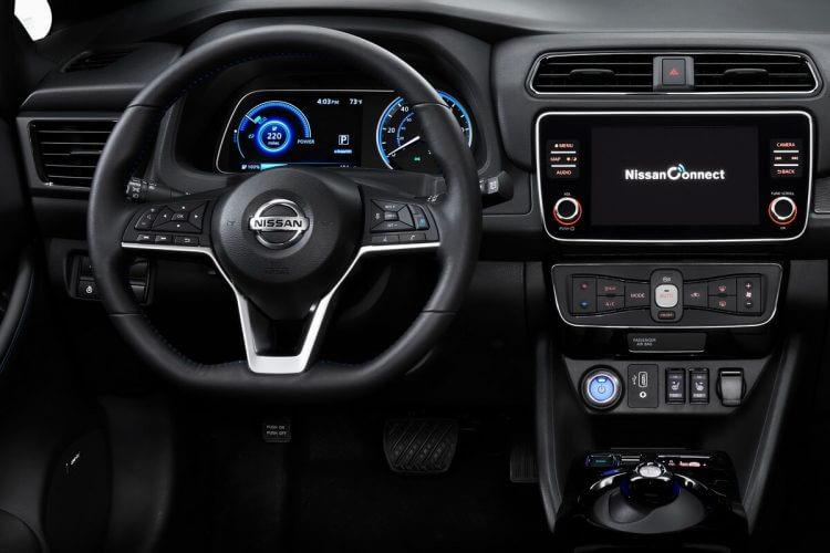 Nissan Leaf 3.ZERO e+ intérieur tableau de bord