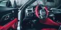 Toyota Supra mk5 intérieur cuir rouge
