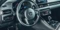 Toyota Supra mk5 intérieur noir