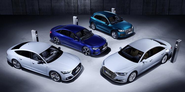 Audi hybrides TFSI e