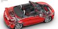 Audi TT RS Roadster Facelift Ecorché