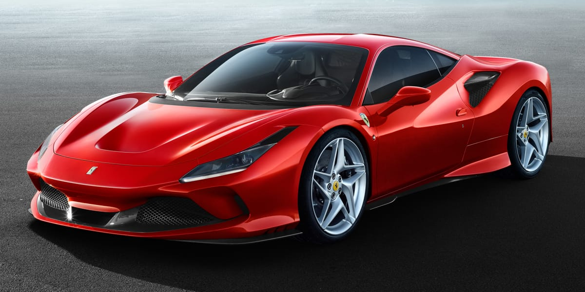 Ferrari F8 Tributo (2019) - La Ferrari F40 en filigrane