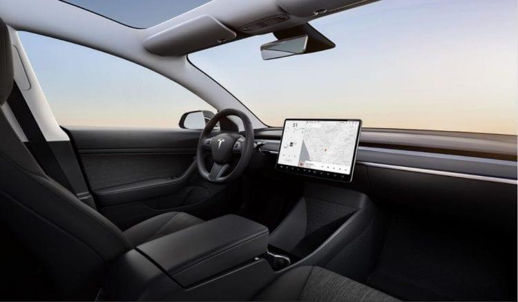 Tesla Model 3 Standard Range Intérieur