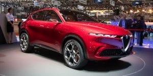 Alfa Romeo Tonale Genève 2019