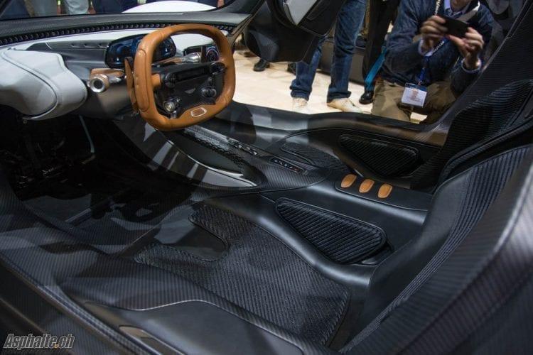Aston Martin RB003 Salon Genève 2019 intérieur