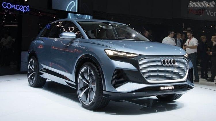Audi Q4 e-tron concept Genève 2019