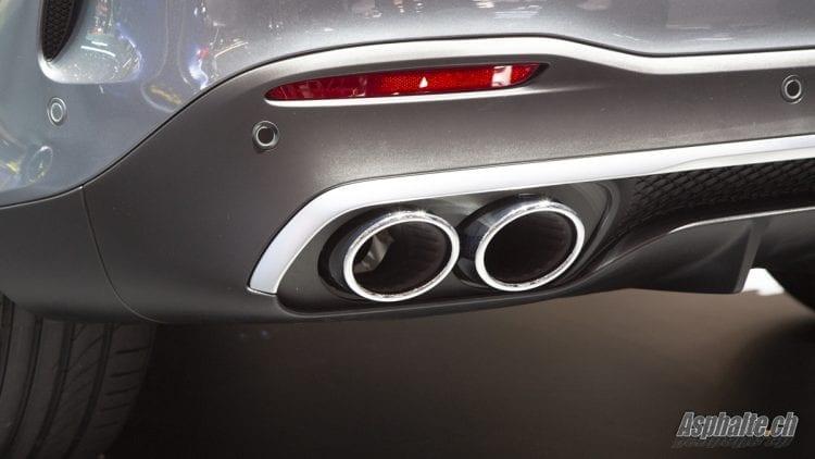 Mercedes-AMG GLE 53 4Matic+ Genève 2019 échappement