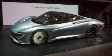 Genève 2019 McLaren Speedtail