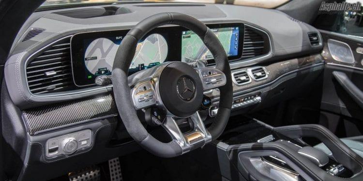 Mercedes-AMG GLE 53 4Matic+ Genève 2019 tableau de bord MBUX