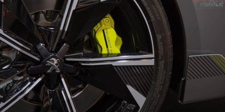 Peugeot Sport Engineered 508 Concept étrier de freins