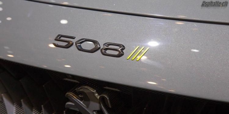 Peugeot Sport Engineered 508 Concept Logo
