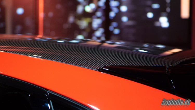 Porsche Cayenne Turbo Coupé toit carbone