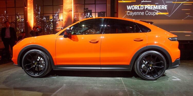 Le rival du BMW X6 se dévoile — Porsche Cayenne Coupé