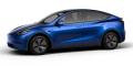 Tesla Model Y bleu