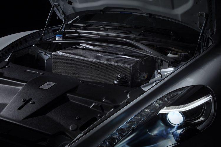 Aston Martin Rapide E batterie