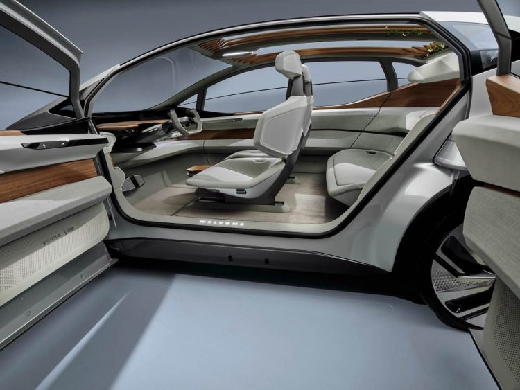 Audi AI:ME Concept intérieur