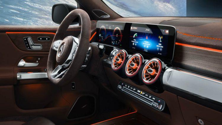 Mercedes Concept GLB intérieur