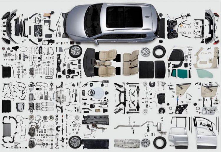 VW Golf LCA Dèmontage