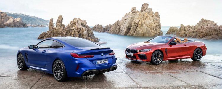 BMW M8 Coupé Cabriolet Competition