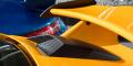 Essai Porsche 991.2 GT3 Jaune Signal prise d'air