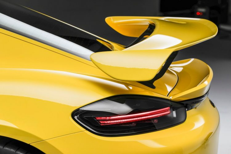 Porsche 718 Cayman GT4 rear wing