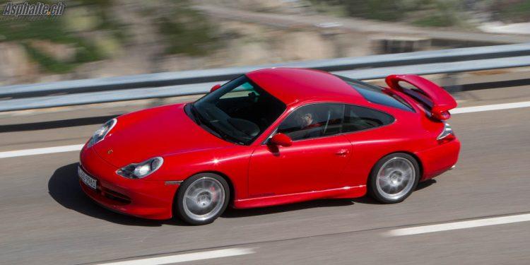 Porsche 996.1 GT3 Grimselpass