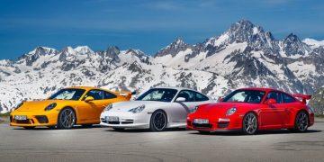 Porsche 911 GT3: 20 ans