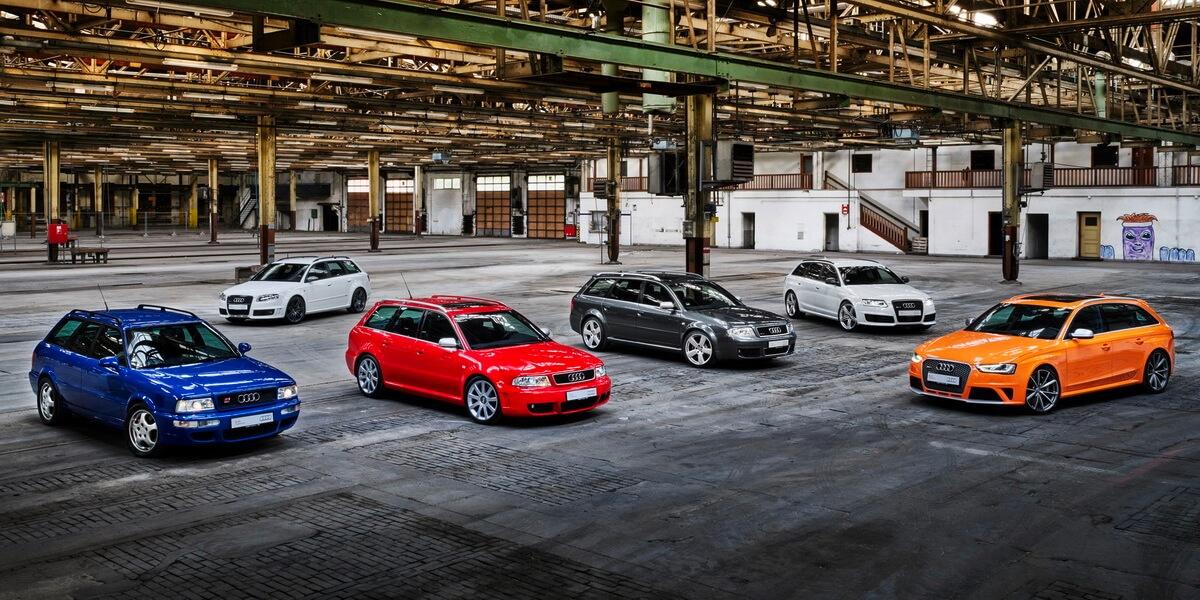 Audi RS: 25 ans