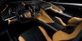 Corvette C8 Stingray intérieur cuir