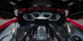Corvette C8 Stingray baie moteur