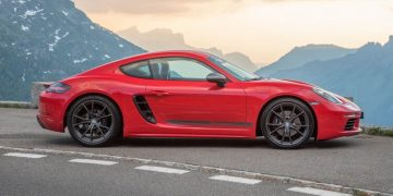 Essai Porsche 718 Cayman T