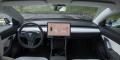 Essai Tesla Model 3 intérieur tableau de bord
