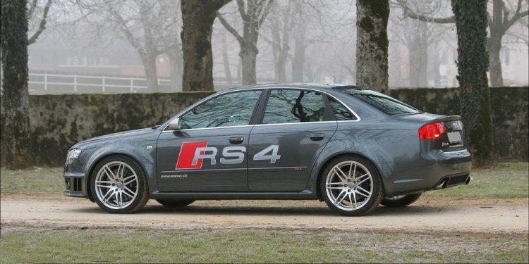Essai Audi RS4 B7