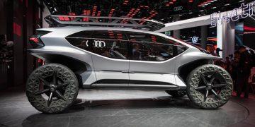 Audi AI TRAIL icon IAA