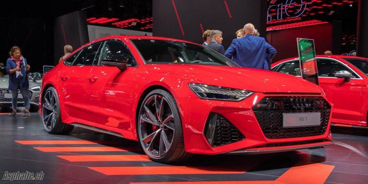Audi Rs7 Sportback C8 IAA 2019