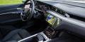 Essai Audi e-tron 55 intérieur tableau bord MMI