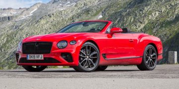 Essai Bentley Continental GTC mk3
