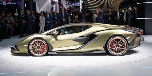 IAA: Lamborghini Sian